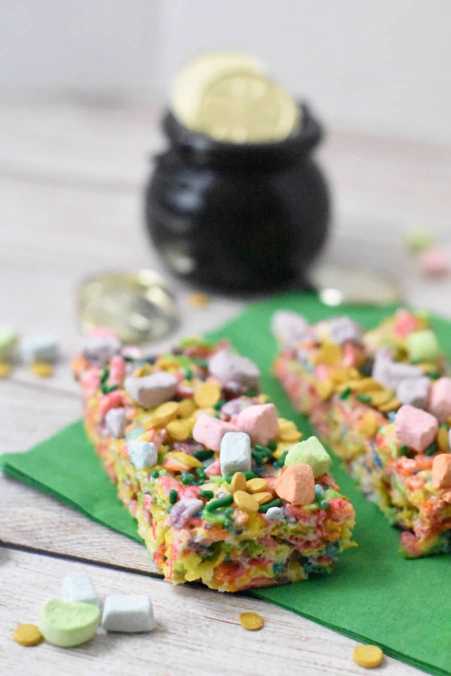 Rainbow Cereal Snack bars
