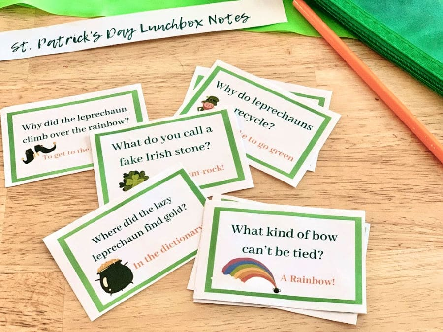 lunchbox notes ready