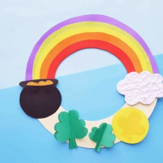 rainbow wreath hero horizontal