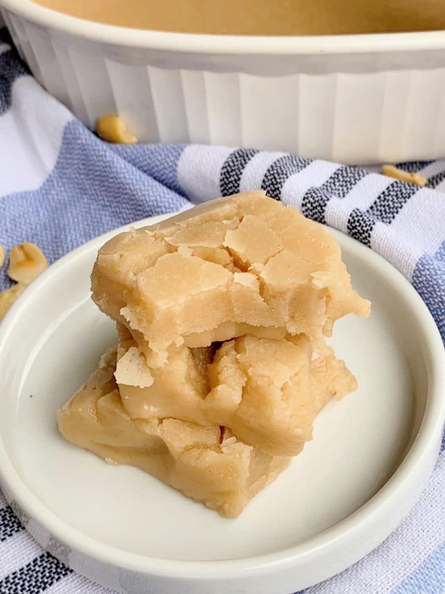 Gooey Peanut Butter Fudge