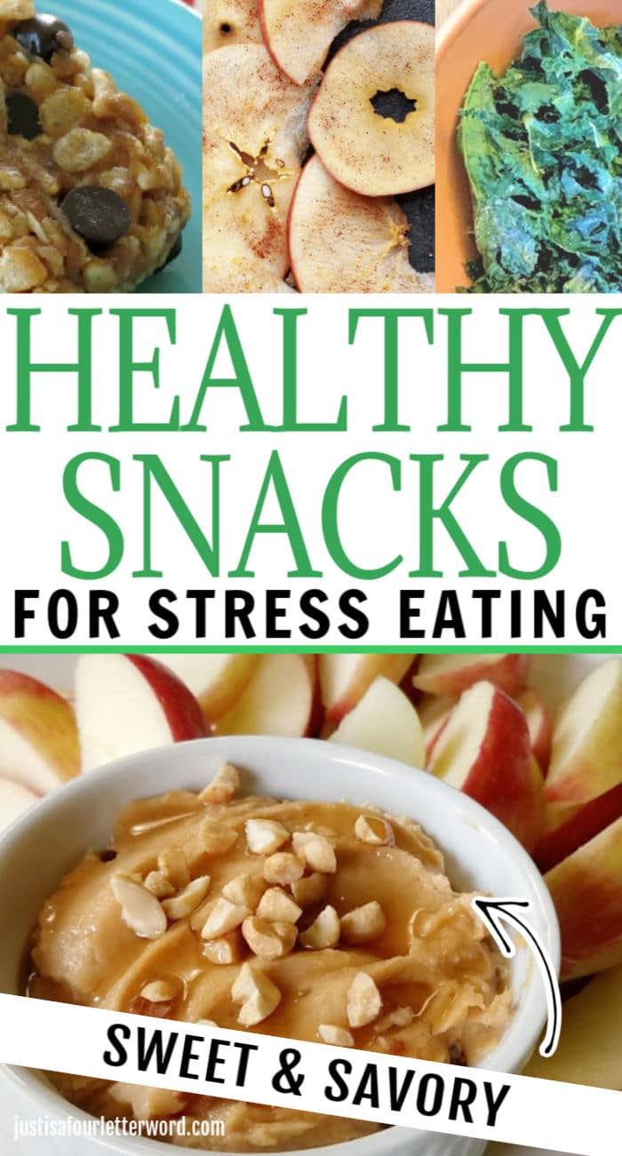 Healthy Snacks for Stress Eating Pin