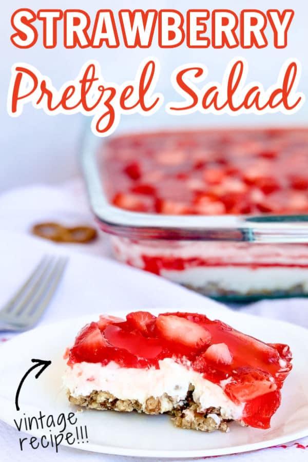 Pretzel Salad Dessert