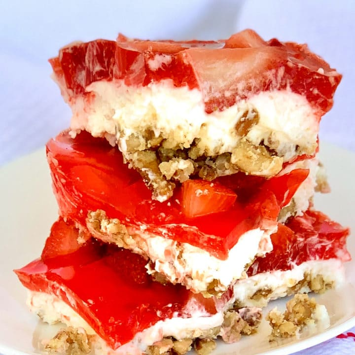 Strawberry Pretzel Salad Dessert