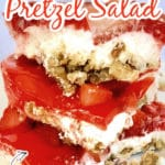 Strawberry Pretzel Salad Jello Dessert