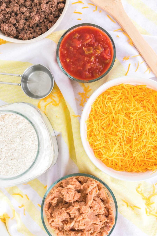 Burrito Bake Ingredients