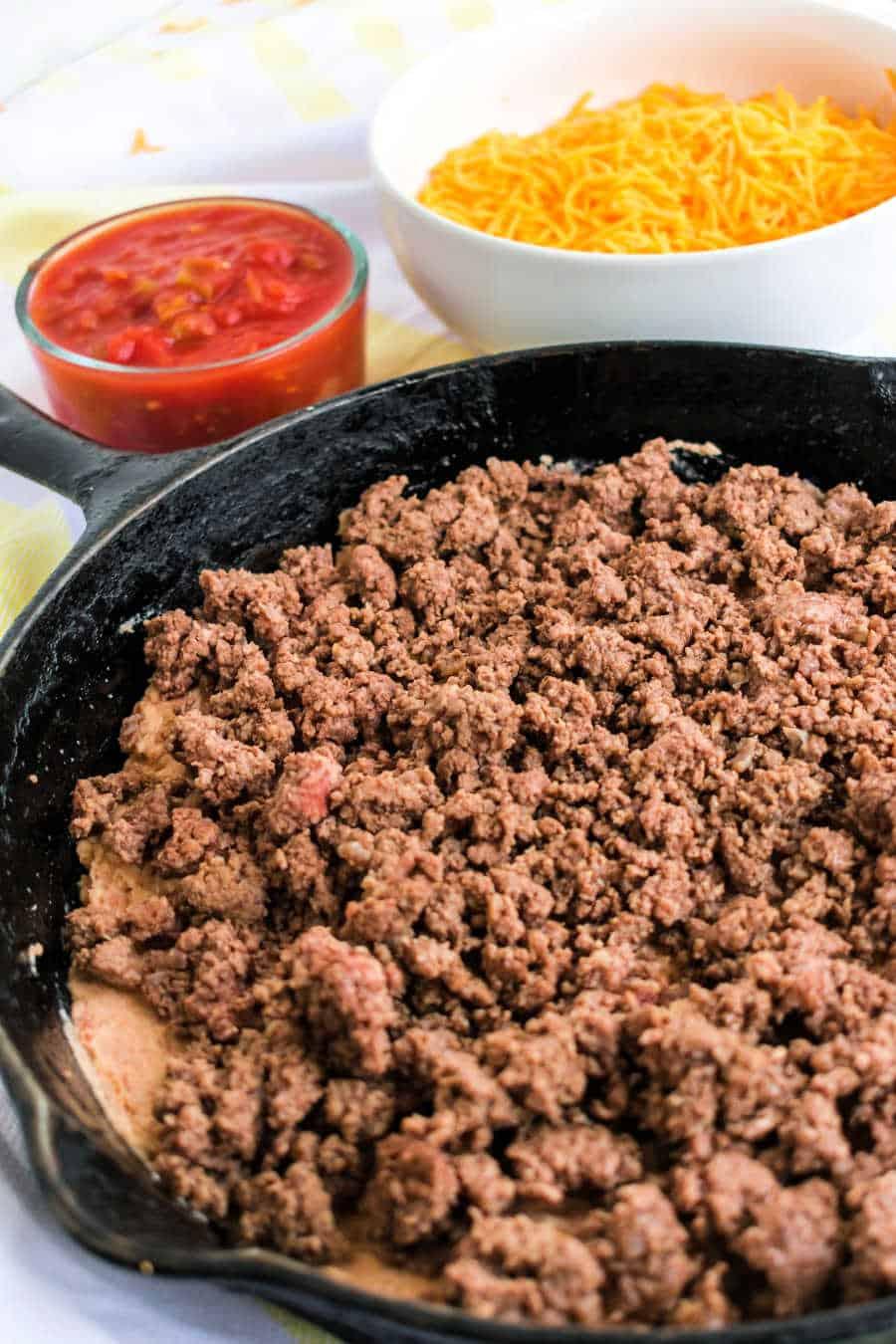 Burrito bake layers