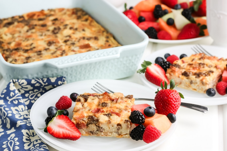 Breakfast Casserole Horizontal