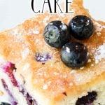 Maine Blueberry Cake