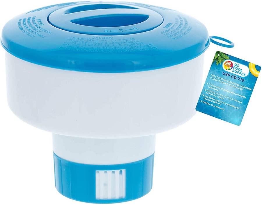 floating chlorine holder