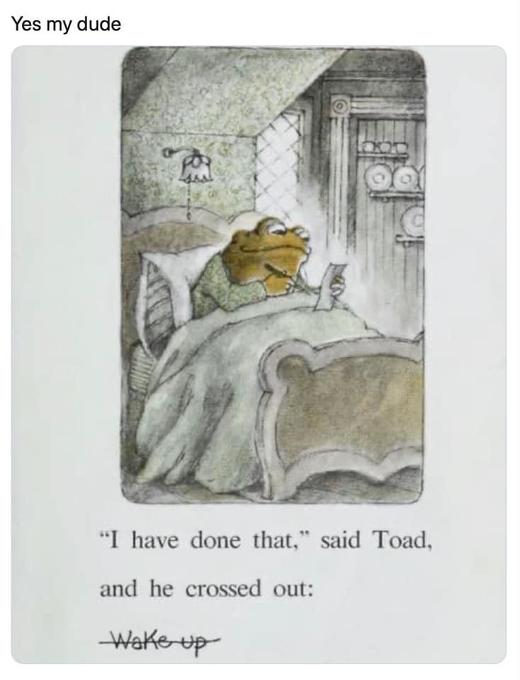 toad checklist