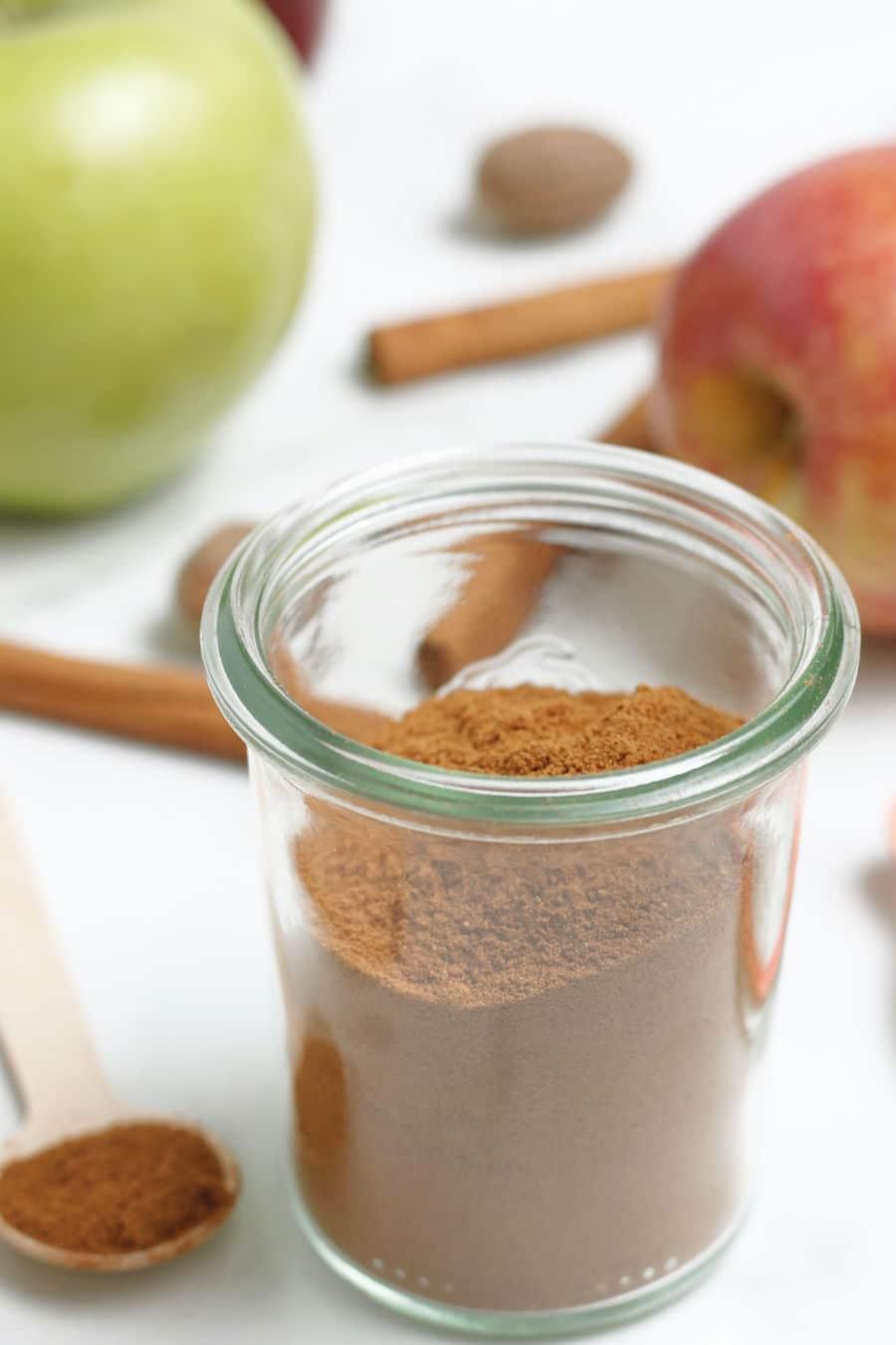 Apple Pie Spice Jar