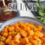 How to roast butternut squash cooked