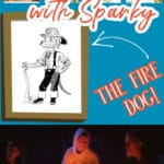 Fire safety tips with Sparky