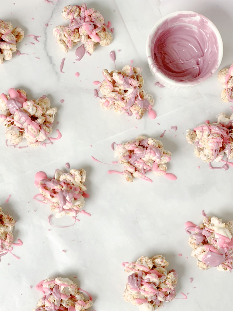 cereal clusters with candy melts