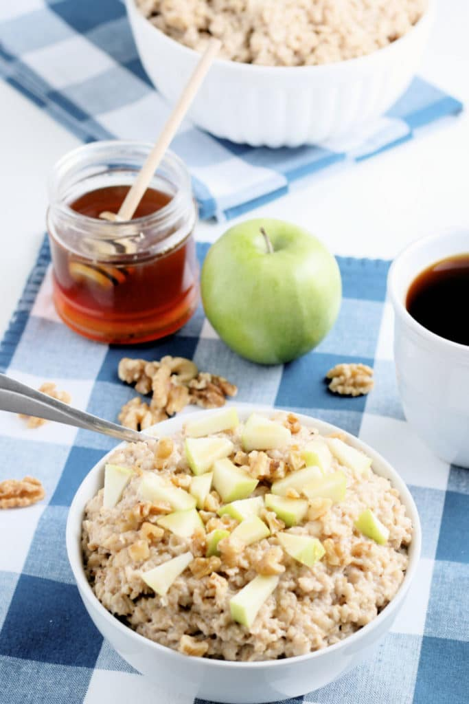 instant pot oatmeal apple