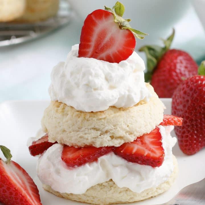 Strawberry Shortcake Recipe from Scratch