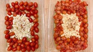 baked feta tomato red pepper