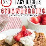 easy recipes made with strawberries