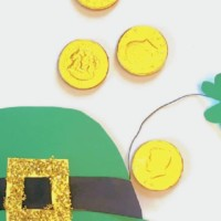 Leprechaun hat template St. Patrick's Day Craft for Kids copy