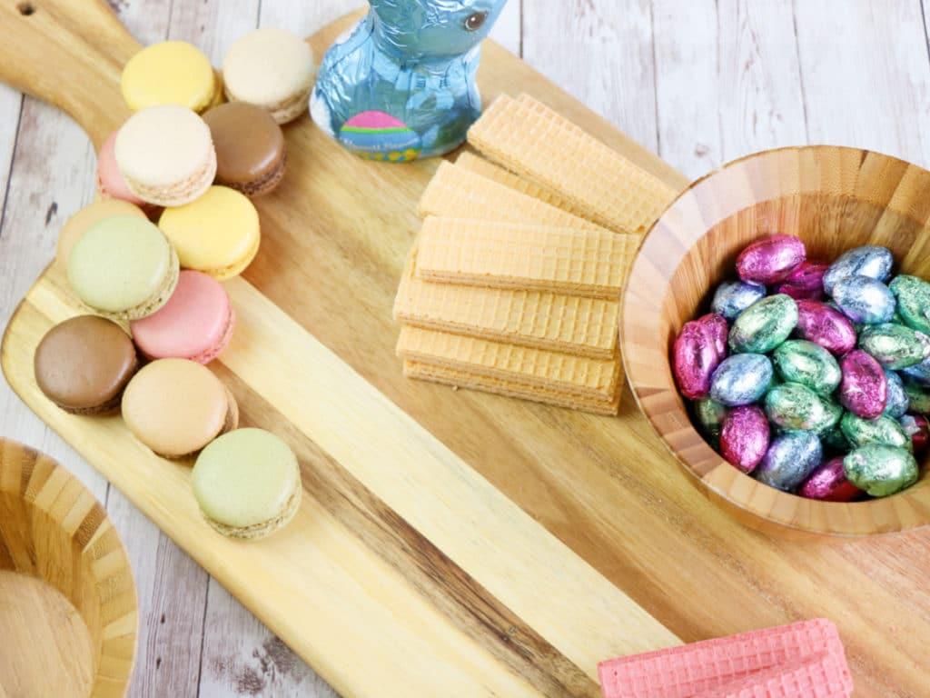arrange candy board