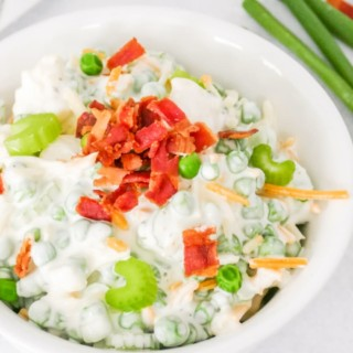 best english pea salad recipe with bacon