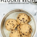 AIR FRYER PIZOOKIE without skillet