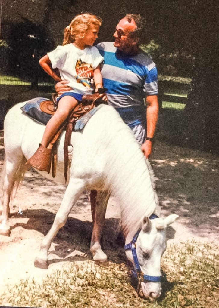 Fort Wilderness 1985 pony ride