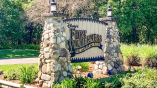 Fort Wilderness Sign