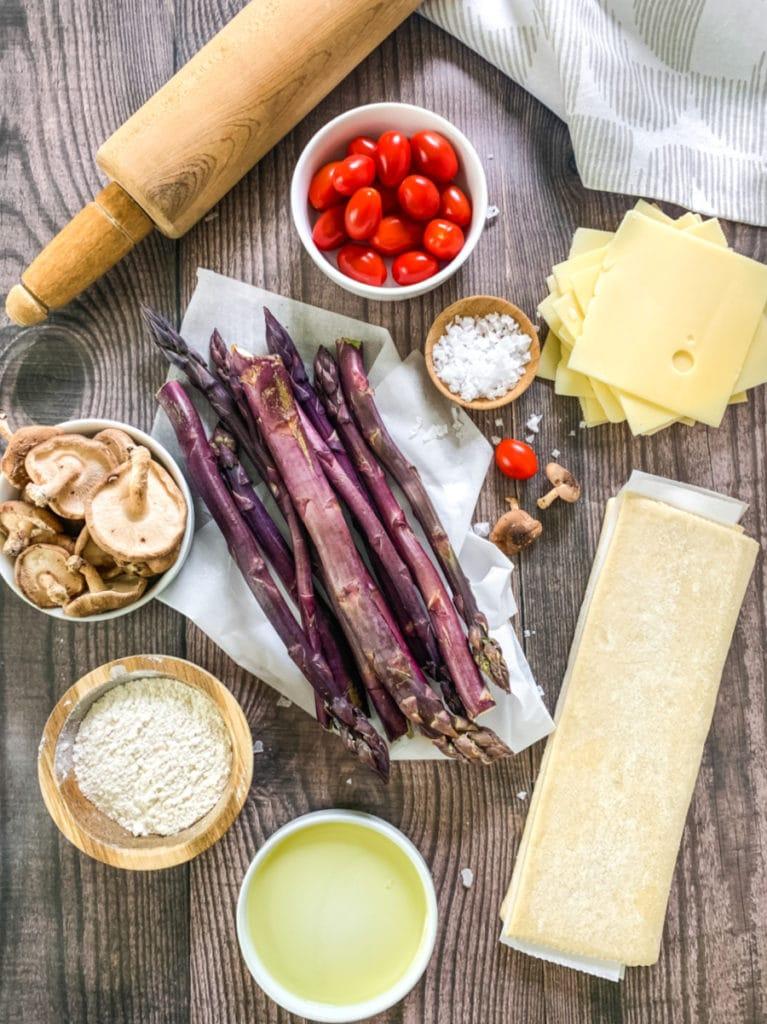 asparagus tart ingredients