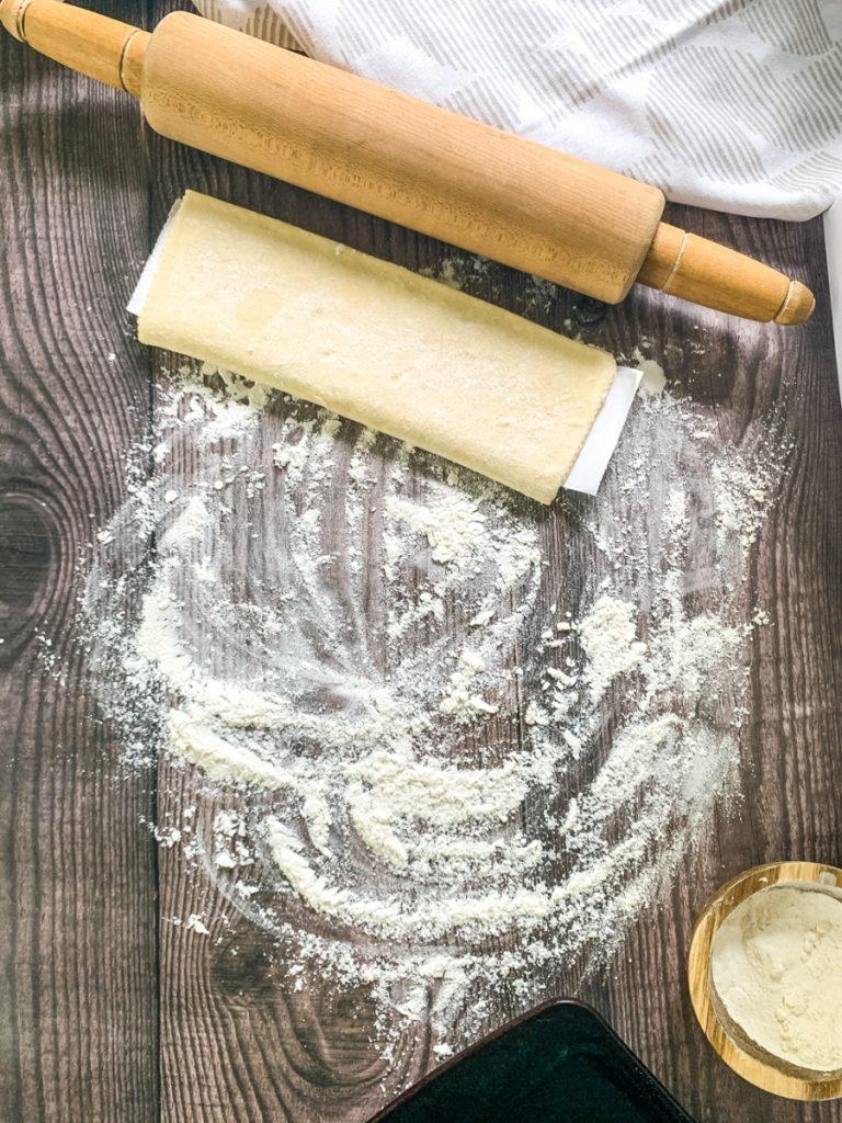 asparagus tart roll pastry