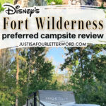 fort wilderness preferred campsite review