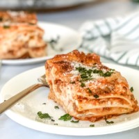 no boil lasagna with cottage cheese