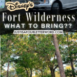 what to bring to fort wilderness