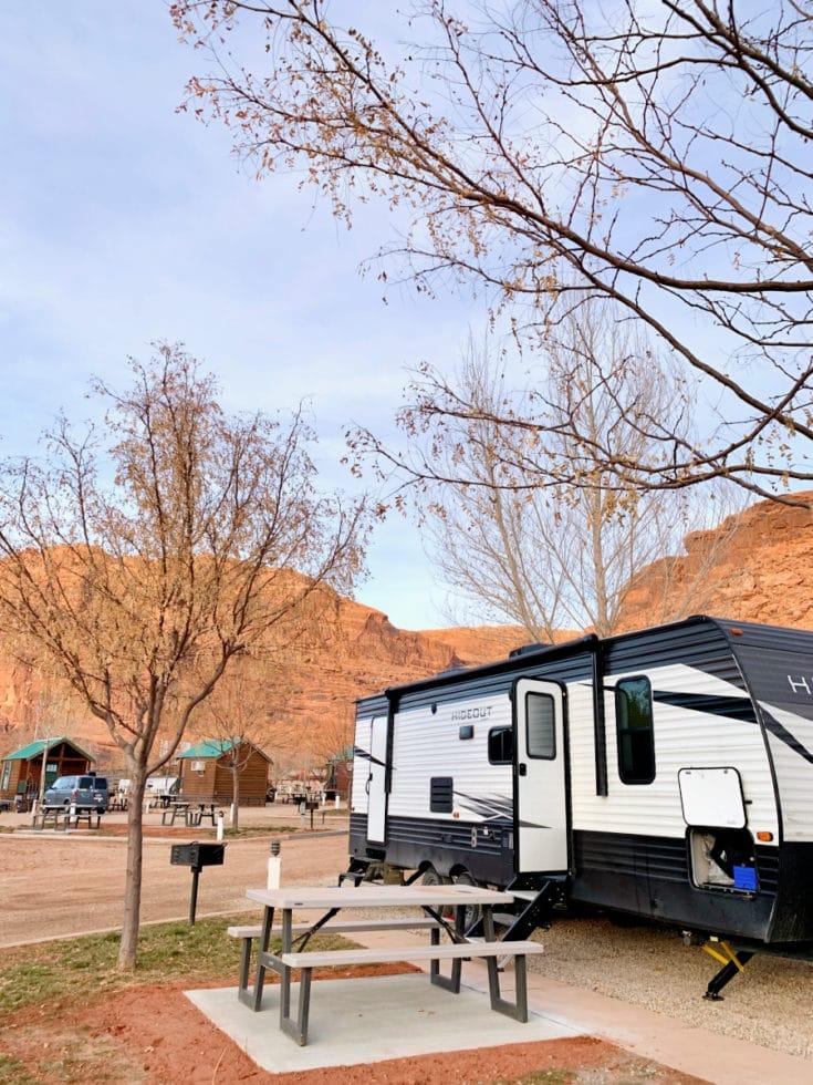 Moab RV Spot