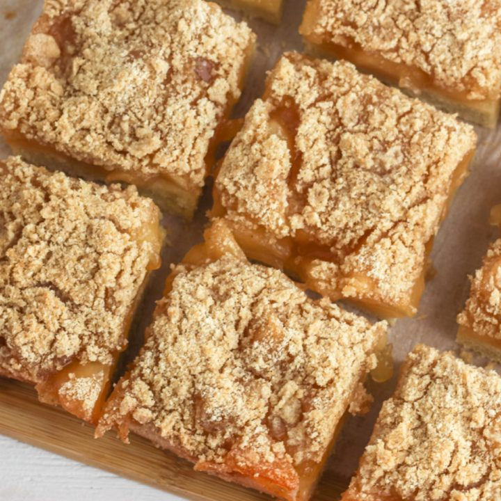 Apple Pie Bars Recipe Card
