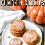 pumpkin spice cake cookies