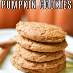 one of my favorite spice cake mix recipes with pumpkin are these cookies