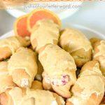 cranberry orange croissants