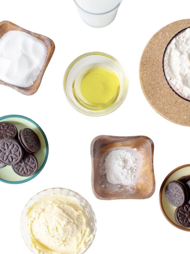 Cupcakes ingredients