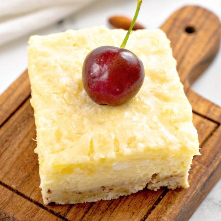Pineapple Cheesecake Bars Recipe