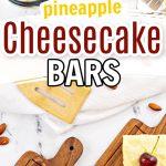 pineapple bars pin image